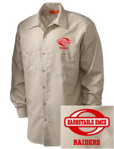 Barnstable HMCS School Raiders Embroidered Men's Industrial Work Shirt - Regular