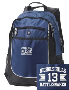 Nichols Hills Elementary School Rattlesnakes Embroidered OGIO Carbon Backpack