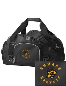 Emmaus High School Hornets  Embroidered OGIO Big Dome Duffel Bag
