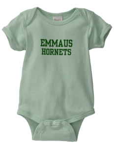 Emmaus High School Hornets  Baby Organic Lap Shoulder Creeper