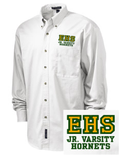 Emmaus High School Hornets Embroidered Tall Men's Twill Shirt