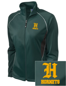 Emmaus High School Hornets Embroidered Holloway Women's Spirit Full-Zip Warm Up Jacket