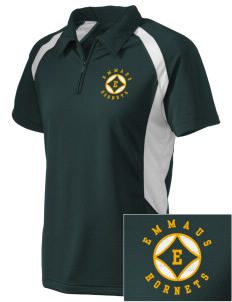 Emmaus High School Hornets Embroidered Holloway Women's Polo