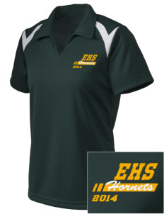Emmaus High School Hornets Embroidered Holloway Women's Laser Polo