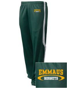 Emmaus High School Hornets Embroidered Holloway Men's Tricotex Warm Up Pants