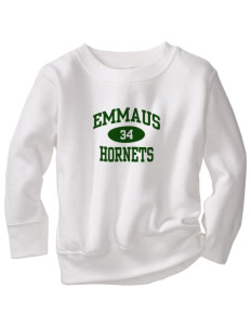 Emmaus High School Hornets Toddler Crewneck Sweatshirt