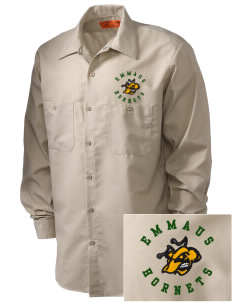 Emmaus High School Hornets Embroidered Men's Industrial Work Shirt - Regular