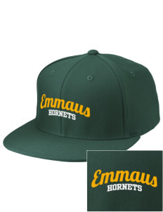 Emmaus High School Hornets Embroidered Diamond Series Fitted Cap
