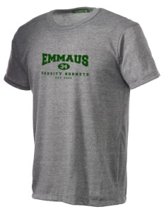 Emmaus High School Hornets Alternative Men's Eco Heather T-shirt