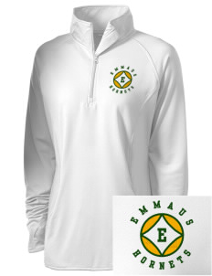Emmaus High School Hornets Embroidered Women's Stretched Half-Zip Pullover