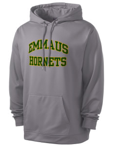 Emmaus High School Hornets Men's Sport-Wick Fleece Hooded Pullover