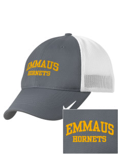 Emmaus High School Hornets Embroidered Nike Golf Mesh Back Cap