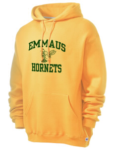 Emmaus High School Hornets Russell Men's Dri-Power Hooded Sweatshirt