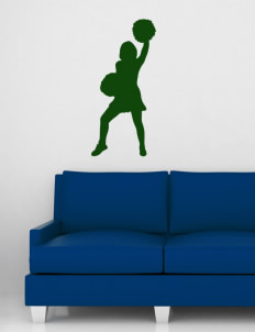 "Emmaus High School Hornets Wall Silhouette Decal 20"" x 32"""