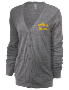Emmaus High School Hornets Unisex 5.6 oz Triblend Cardigan