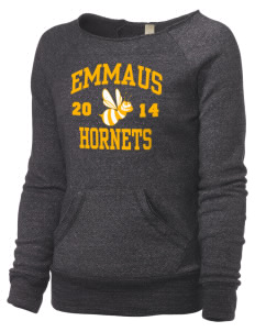 Emmaus High School Hornets Alternative Women's Maniac Sweatshirt