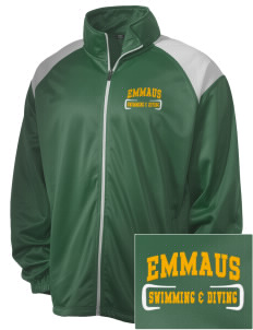 Emmaus High School Hornets Embroidered Men's Tricot Track Jacket