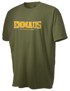 Emmaus High School Hornets Men's Pigment-Dyed Vintage T-Shirt