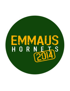 Emmaus High School Hornets Sticker