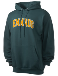 Emmaus High School Hornets Men's 7.8 oz Lightweight Hooded Sweatshirt with Tackle Twill