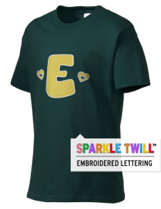 Emmaus High School Hornets Kid's Essential T-Shirt with Sparkle Twill™