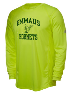 Emmaus High School Hornets New Balance Men's Tempo Long-Sleeve Performance T-Shirt
