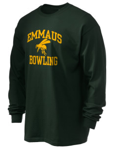 Emmaus High School Hornets Men's 6.1 oz Ultra Cotton Long-Sleeve T-Shirt