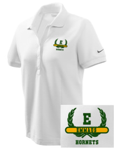 Emmaus High School Hornets Embroidered Nike Women's Pique Golf Polo