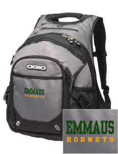 Emmaus High School Hornets Embroidered OGIO Fugitive Backpack