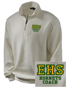 Emmaus High School Hornets Embroidered Men's 1/4-Zip Sweatshirt