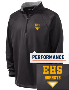 Emmaus High School Hornets Embroidered Men's 1/4-Zip Performance Fleece