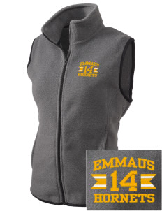 Emmaus High School Hornets Embroidered Women's Fleece Vest