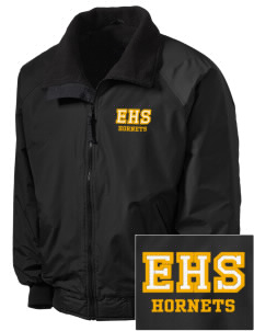 Emmaus High School Hornets Embroidered Men's Fleece-Lined Jacket