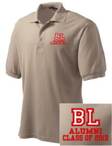 Barrett Learning Center Cardinals Embroidered Men's Silk Touch Polo