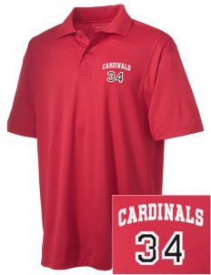 Barrett Learning Center Cardinals Embroidered Men's Micro Pique Polo