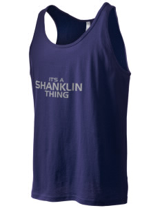 Shanklin Elementary School Sand Dollars Men's Jersey Tank