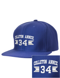 Colleton Middle School Annex Bulldogs Embroidered D-Series Cap