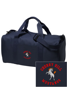 Cherry Hill Elementary School Mustangs Embroidered Holloway Duffel Bag