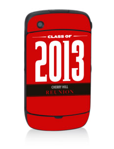 Cherry Hill Elementary School Mustangs Black Berry 8530 Curve Skin