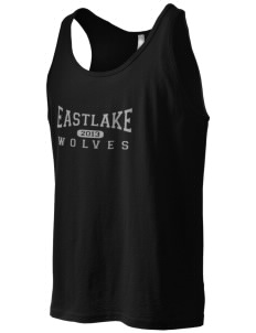 Eastlake High School Wolves Men's Jersey Tank