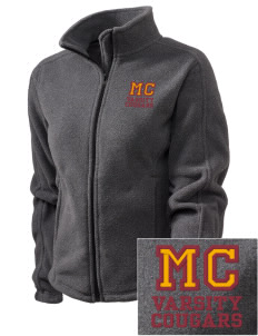 McLean County Middle School Cougars Embroidered Women's Fleece Full-Zip Jacket