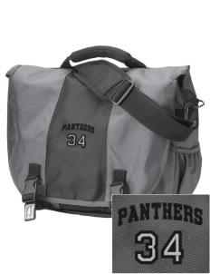 Black River High School Panthers  Embroidered Montezuma Messenger Bag