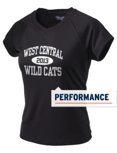 West Central Middle School Wild Cats Champion Women's Wicking T-Shirt
