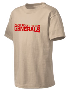 Douglas MacArthur High School Generals Kid's Lightweight T-Shirt