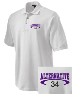 Alternative Academy Phoenix Embroidered Tall Men's Pique Polo