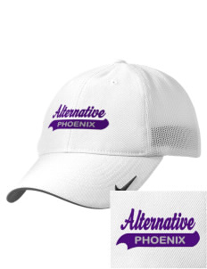 Alternative Academy Phoenix Embroidered Nike Golf Mesh Back Cap