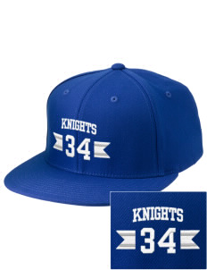 Brookside Christian Junior High School Knights Embroidered Diamond Series Fitted Cap