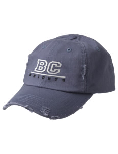 Brookside Christian Junior High School Knights Embroidered Distressed Cap