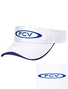 Franklin County Vocational Center Bulldogs Embroidered Binding Visor