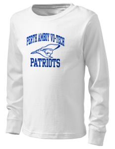 Perth Amboy Vo-Tech School Patriots  Kid's Long Sleeve T-Shirt